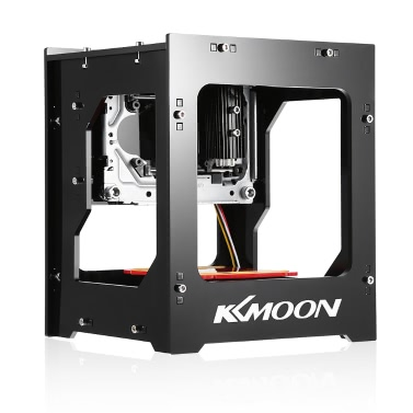 KKmoon DK-8-KZ 1000mW High Speed Mini USB Laser Engraver Carver Automatic DIY Print Engraving Carving Machine Off-line Operation with Protective Glasses
