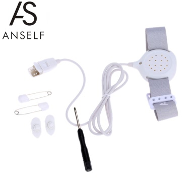 Anself High Quality Convenient Professional Arm Wear Bedwetting Alarm Baby Toddler Children Potty Training