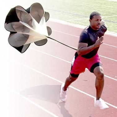 Speed Drills Training Resistance Parachute Running Chute Power Tool