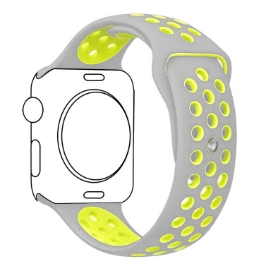 Breathable Silicone Replacement Sport Strap Bracelet