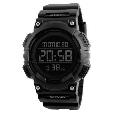SKMEI Sport Digital Wristwatches Men Watches 5ATM Water-resistant Watch Male Backlight