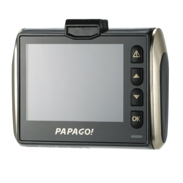 "PAPAGO GoSafe 525 Car DVR A7L 1296P 2.0"" LCD 155 Degree Angle Dash Cam Video Recorder"