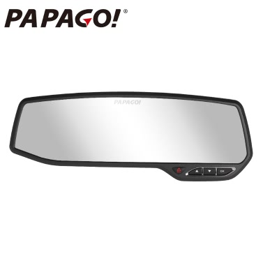 PAPAGO M10G Car DVR Novatek 96650 1080P 2.7 Screen 147 Degree Angle  Anti glare rearview mirror Video Recorder