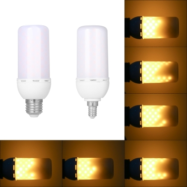 5W E27 SMD2835 LED Flame Dynamic Effect Light Bulbs