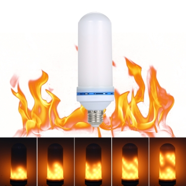 E27 LED 6W Flame Effect Fire Light Bulb
