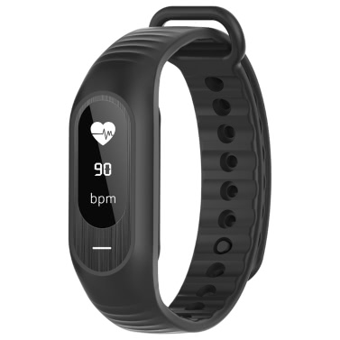 B15P Smart Band 0.86inch OLED Screen NRF51822 Micro Processor BLE4.0 80mAh Battery IP67 Waterproof Intelligent Sports Band Bracelet Pedometer Calories Heart Rate Sleep Monitor Call Reminder Message Notification Distance Blood Pressure Monitor Wrist Band for iPhone 7 6S Plus Samsung S6 S7 Plus Smartphones iOS Android Devices