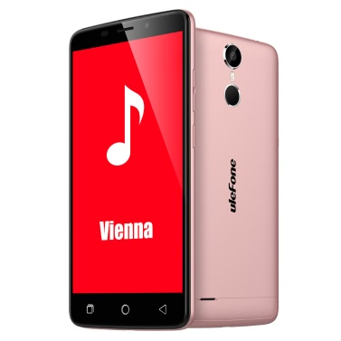 "Ulefone Vienna Smartphone 4G FDD-LTE 3G WCDMA Android 5.1 OS 64bit MTK6753 Octa Core 5.5"" FHD Screen 3GB RAM 32GB ROM 5MP 13MP Dual Cameras Fingerprint Recognition Infrared Remote Control Smart Key Off-Screen Gestures HotKnot Miracast"