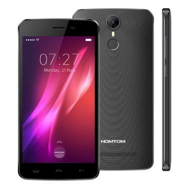 HOMTOM HT27 Smartphone 3G Phone 5.5inch HD Screen 1280*720pixel MTK6580 Quad Core 1.3GHz CPU Android 6.0 OS 1GB RAM 8GB ROM 8.0MP+5.0MP Camera 3000mAh Battery Fingerprint GPS Smart Phone