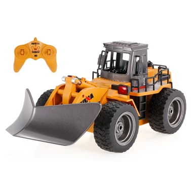 HUI NA TOYS 1586 1/18 2.4Ghz 6CH Snow Sweeper Engineering Truck RC Car Kids Toys Gift