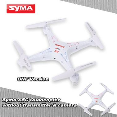 SYMA X5C 4CH 6-Axis Gyro RC Quadcopter Without Camera & Transmitter