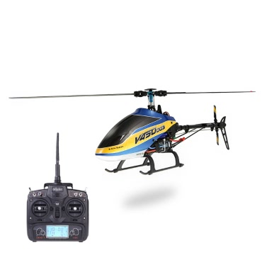 Walkera V450D03 6CH 450 RC FBL Helicopter with DEVO 7 Transmitter
