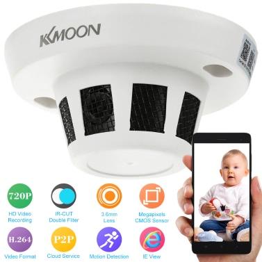 KKmoon H.264 HD 720P IR-CUT IP Camera Motion Detection CCTV Security Home Surveillance