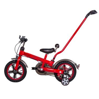 Rastar 12 Inch Kids Pedal Bike BWM Mini Cooper Stroller Children