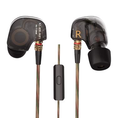KZ ATE 3.5mm In Ear Headphones w/ Microphone