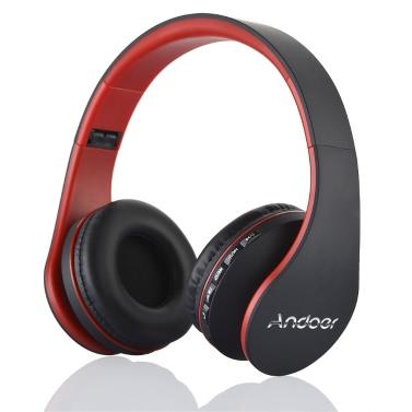 Andoer LH-811 Digital 4 in 1  Wireless Stereo Bluetooth 4.1 + EDR Headphone