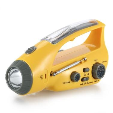 XLN-288DUS solar emergency flashlight