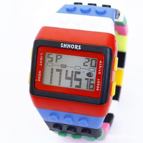 SHHORS Colorful Fashion Multi-function Digital Children Sports Watch Alarm Backlight Electronic Student Boy Girl Quartz Wristwatch от Tomtop.com INT