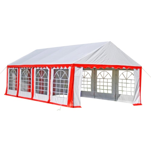 Buy Party Tent 8 x 4 m Red