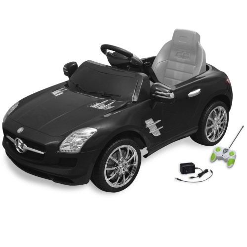 Buy Electric Ride-on Car Mercedes Benz SLS AMG Black 6 V Remote Control