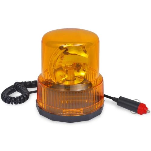 Luz giratoria de advertencia con base magnética 12V от Tomtop.com INT