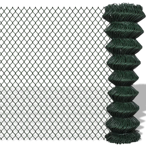 "Chain Fence 4' 9"" x 49' 2"" Green от Tomtop.com INT"