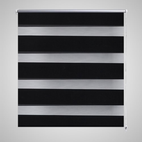Buy Zebra Blind 40 x 100 cm Black