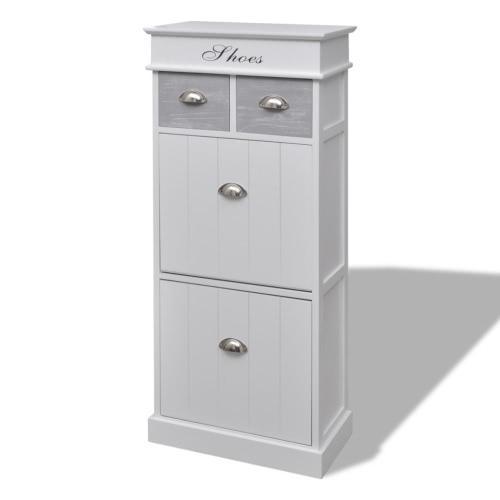 Wooden Shoe Cabinet With Top Sales Online - Tomtop.com