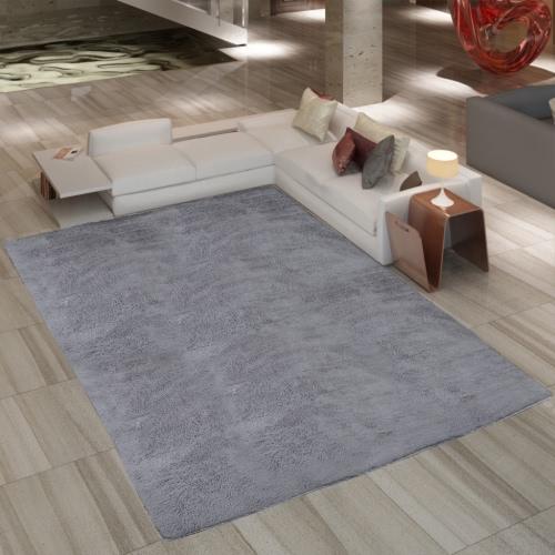 Buy Grey Shaggy Carpet 200 x 290 cm Heavy Weight 2600 g / mu00b2