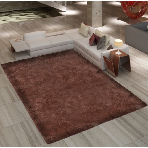 Buy Brown Shaggy Carpet 200 x 290 cm Heavy Weight 2600 g / mu00b2
