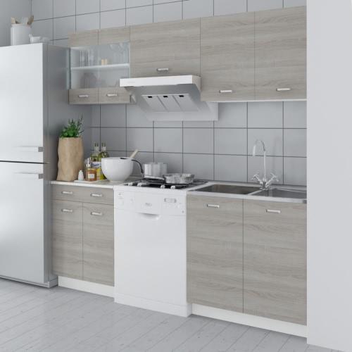 Oak Look Kitchen Cabinet Unit 5 pcs от Tomtop.com INT