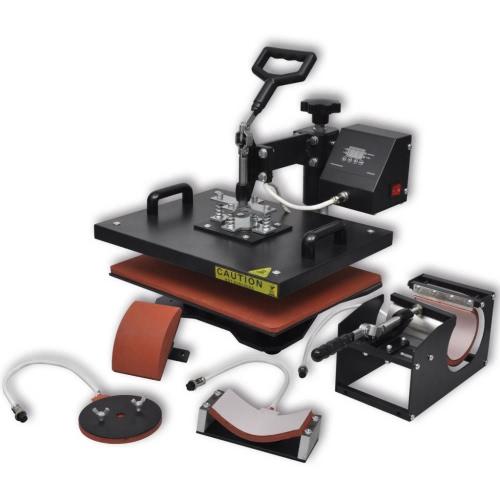 Buy 4 1 Heat Press Transfer Machine 900 W