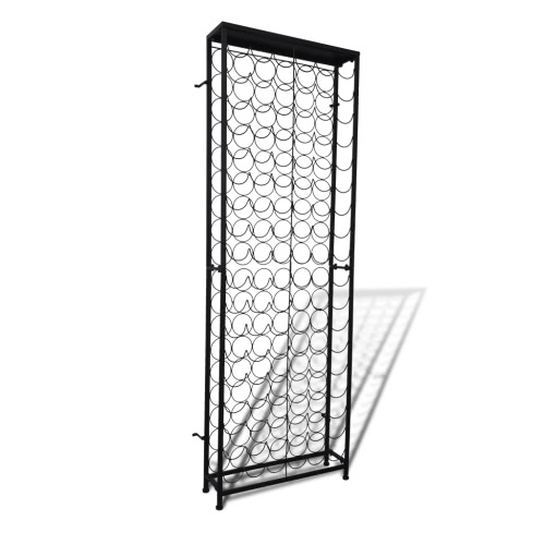 Buy Free Standing Metal Wine Rack 108 Bottles