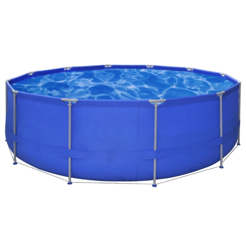 Above Ground Swimming Pool Steel Frame Round 457 x 122 cm от Tomtop.com INT