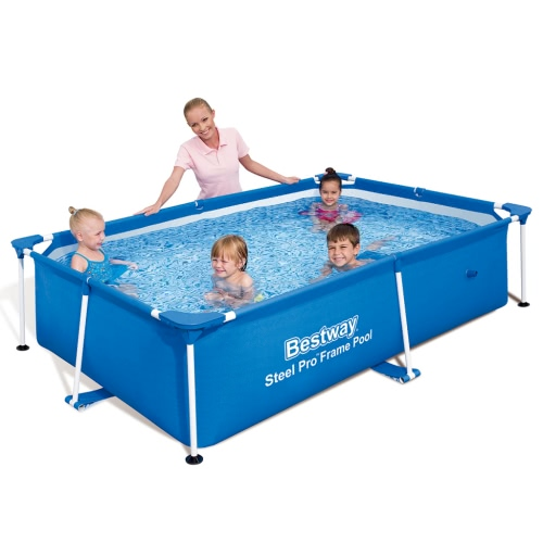 Bestway Steel Pro Rectangular Swimming Pool 239 * 150 * 58cm от Tomtop.com INT