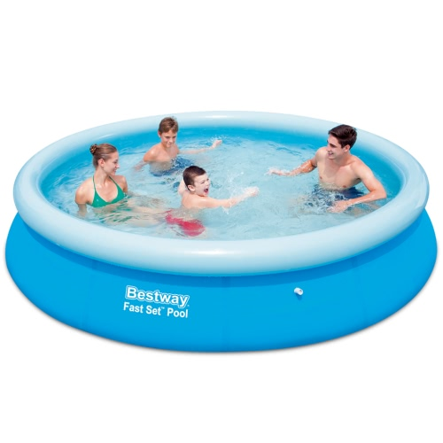 Bestway Fast Set Round Inflatable Swimming Pool 366 x 76 cm 57273 от Tomtop.com INT