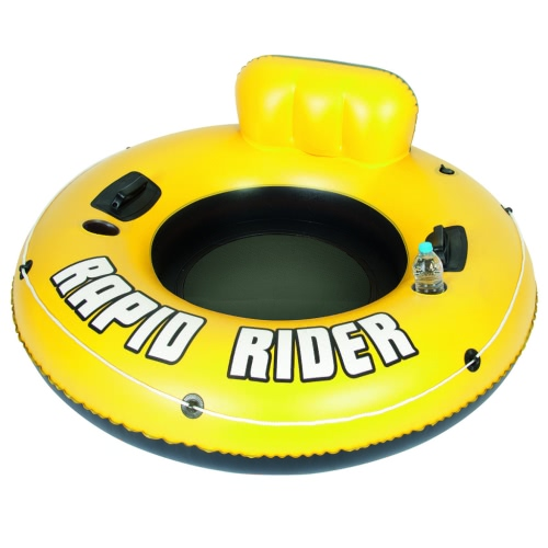 Bestway Rapid Rider One Person Inflatable Water Floating Tube 43116 от Tomtop.com INT