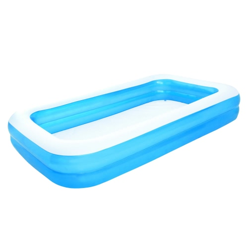 Bestway Inflatable Pool Blue/White 305 x 183 x 46 cm 54150 от Tomtop.com INT
