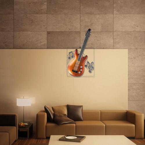 Tooarts гитара висячие украшения Домашний декор гобелены Декор музыкальный инструмент Craft подарок