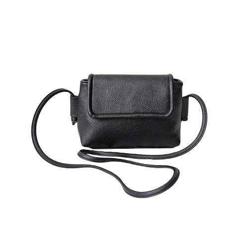 Buy Fashion Women Crossbody Bags Soft PU Solid Color Zipper Casual Small Mini Shoulder Messenger Bag Handbag