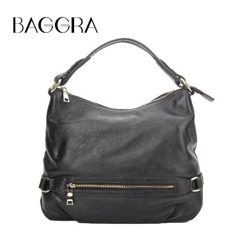 Buy Fashion Women Handbag Shoulder Bag Genuine Leather Large Capacity Solid Casual Crossbody Tote
