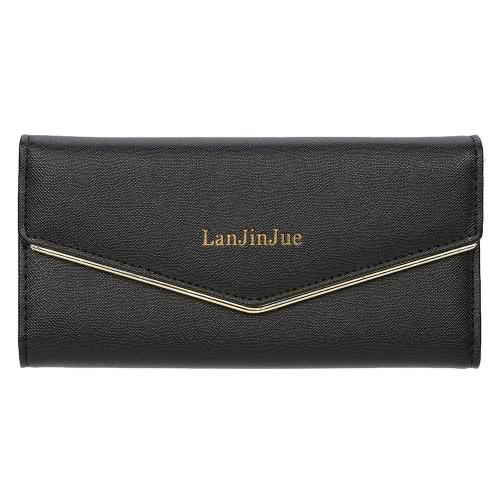 Buy 2016 Fashion Lady Women Clutch Wallets Bag Popular Purse Long PU Card Coin Holder Case Birthday Gift