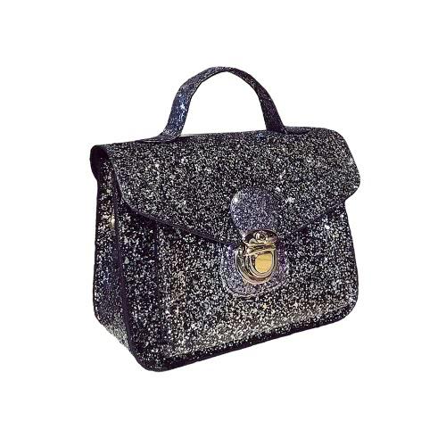Buy Fashion Women Mini Crossbody Bags Sequined PU Leather Chain Shoulder Messenger Bag Handbag Pink / Black Silver
