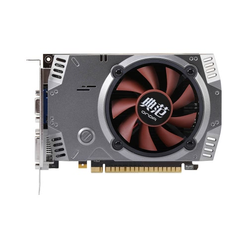 Onda NVIDIA GeForce GT 730 GPU 2GB 64bit 2048MB Gaming DDR5 PCI-E 2.0 Video Graphics Card DVI+HD+VGA Port with One Cooling Fan