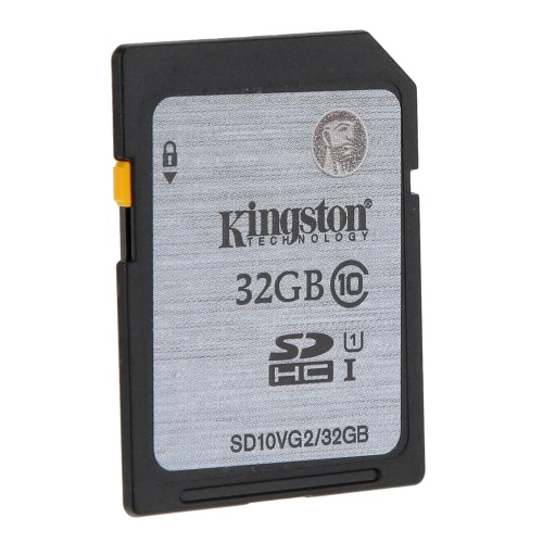 Genuine Original Kingston Class 10 32GB SDHC Memory Card 45M/s for Cellphone Camera HD Video от Tomtop.com INT