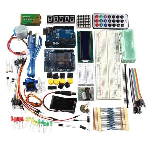 Buy R3 UNO Learning Kit Arduino Stepper Motor 1602LCD Sensors Servo Breadboard Jumper Wire