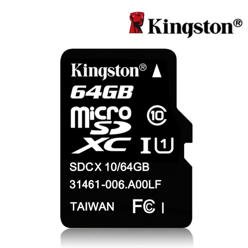 Kingston Class 10 64GB MicroSDHC TF Flash Memory Card 48MB/s Maximal Speed от Tomtop.com INT