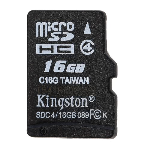 Kingston Class 4 8G 16GB MicroSDHC TF Flash Memory Card 4MB/s Speed от Tomtop.com INT