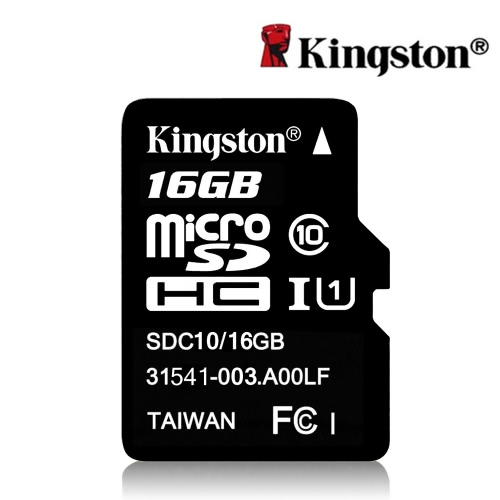 Genuine Original Kingston Class 10 16GB MicroSDHC TF Flash Memory Card 48MB/s Maximal Speed от Tomtop.com INT