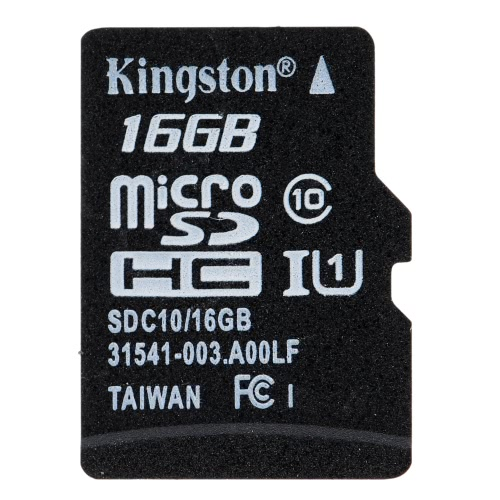 Buy Kingston Class 10 8GB 16GB 32GB 64GB MicroSD TF Flash Memory Card 48MB/s Maximal Speed Adapter