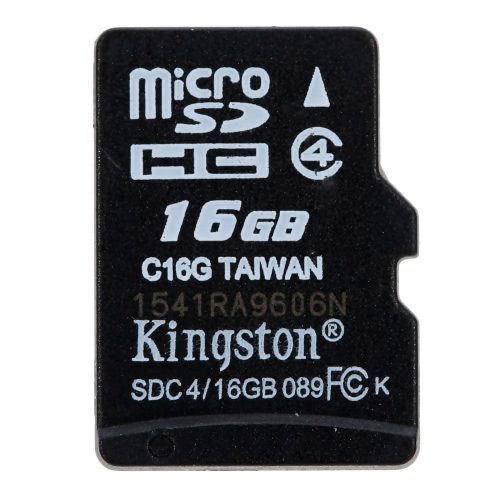 Kingston Class 4 8G 16GB MicroSDHC TF Flash Memory Card 4MB/s Minimal Speed with Adapter от Tomtop.com INT